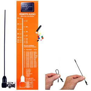 Remote Audio Kit Antena Miracle Whip - BNC Acodado