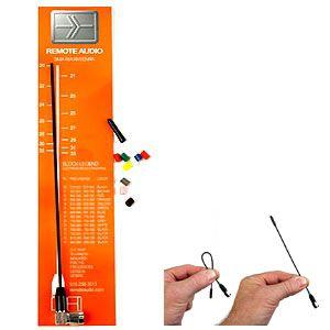 Remote Audio Kit Antena Miracle Whip - Conector SMA Acodado